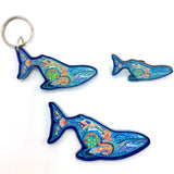 Blue Whale Magnets, Keychains and Pins
