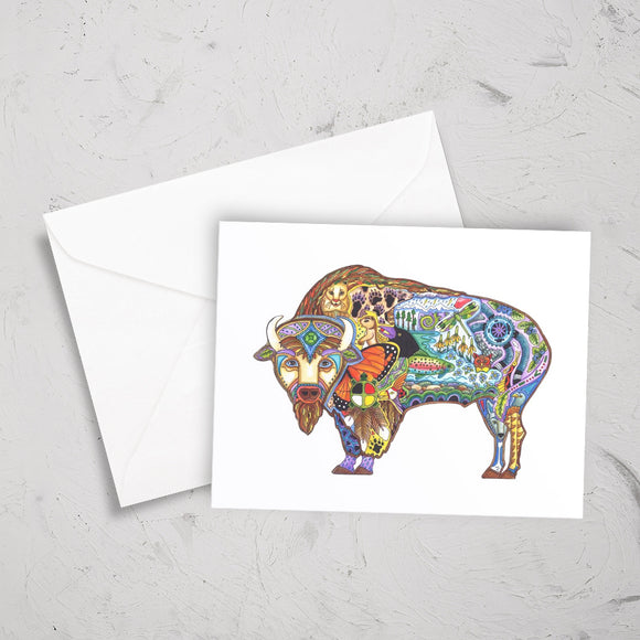 Buffalo Note Card