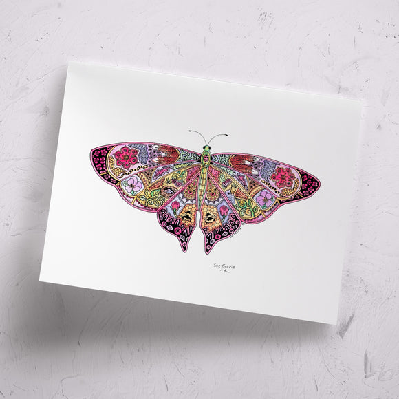 Butterfly Signed Print