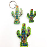 Cactus Magnets, Keychains and Pins
