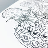 Mountain Critters Coloring Book
