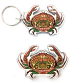 Crab Magnets and Keychains