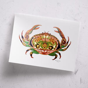 Crab Signed Print