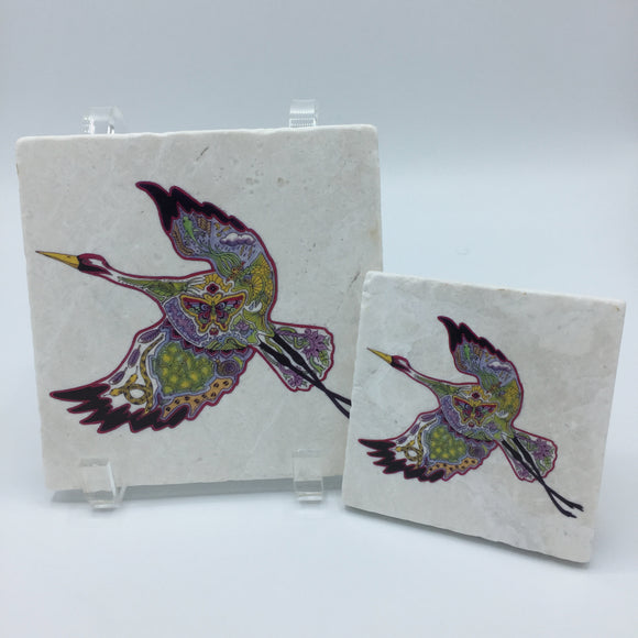 Crane Coasters and Trivets