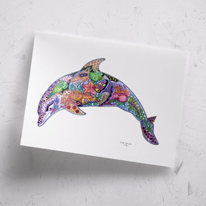Dolphin Signed Print