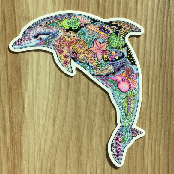 Dophin Sticker