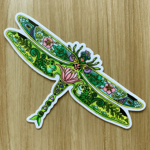 Dragonfly 2 Sticker