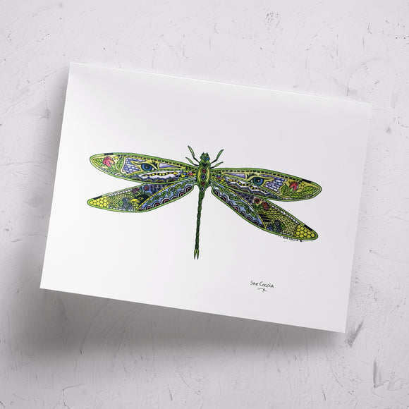 Dragonfly Signed Print