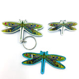 Dragonfly Magnets, Keychains and Pins