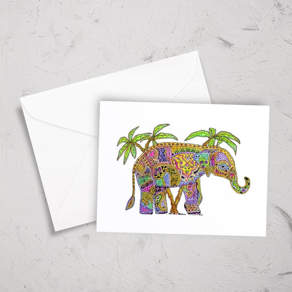 Elephant Note Card