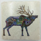 Elk Coasters and Trivets