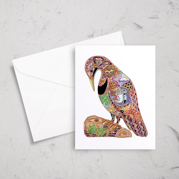 Flicker Note Card