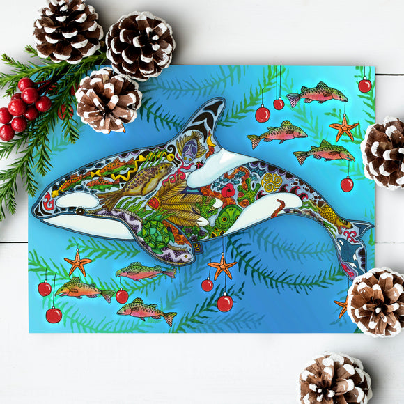 Orca J2 (Granny) Holiday Card