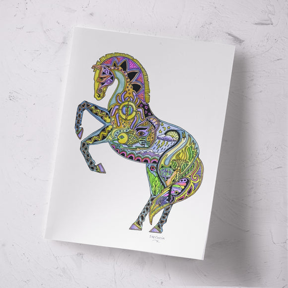 Horse Signed Print