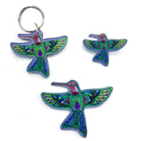 Hummingbird Magnets, Keychains and Pins