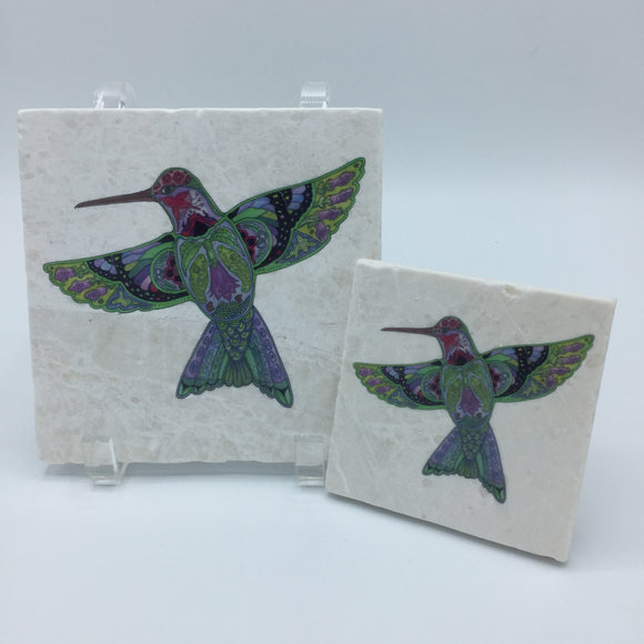 Hummingbird Coasters and Trivets