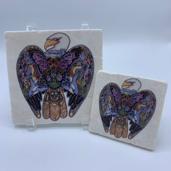 Eagle Coasters and Trivets