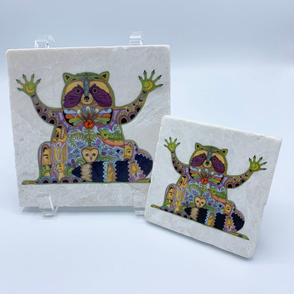 Raccoon Coasters and Trivets