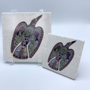 Raven Coasters and Trivets
