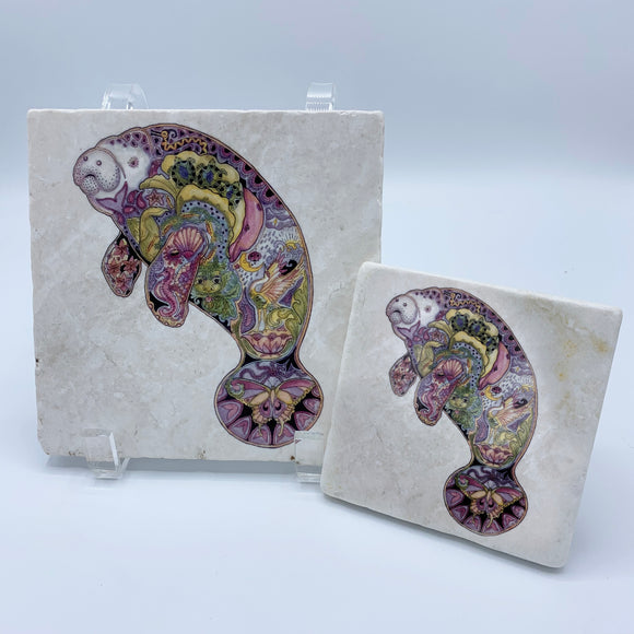 Manatee Coasters and Trivets