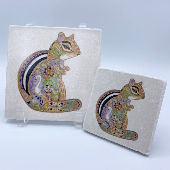 Chipmunk Coasters and Trivets