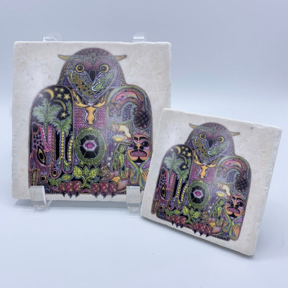 Owl Coasters and Trivets