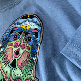 Sasquatch Blue Shirt