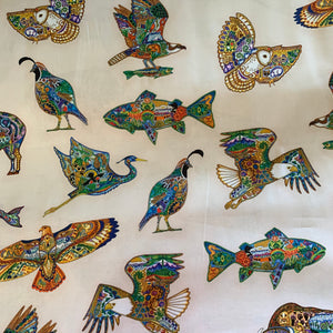Animal Spirits Fabric 18414-205 MULTI