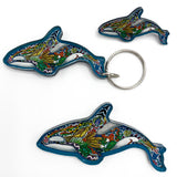 Granny Orca Magnets, Keychains and Pins