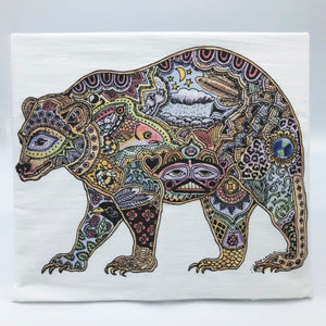 Bear Flour Sack Towel