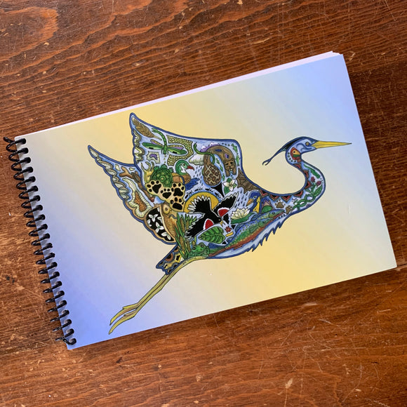 Flying Blue Heron Journal