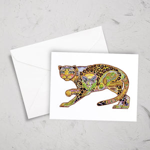 Jaguar Note Card