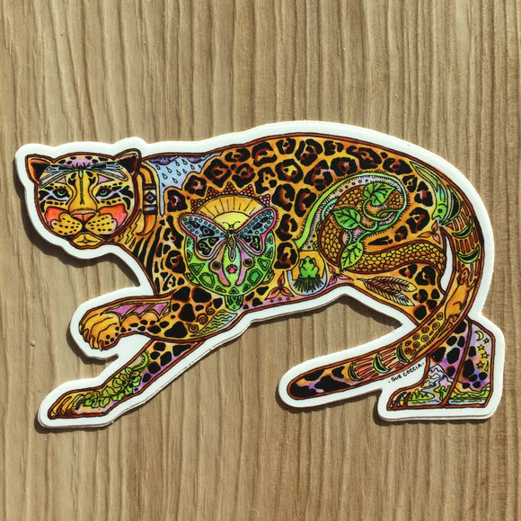 Jaguar Sticker