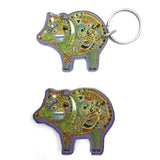 Javelina Magnets and Keychains