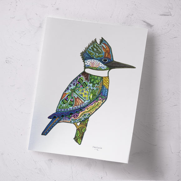 King Fisher Signed Print