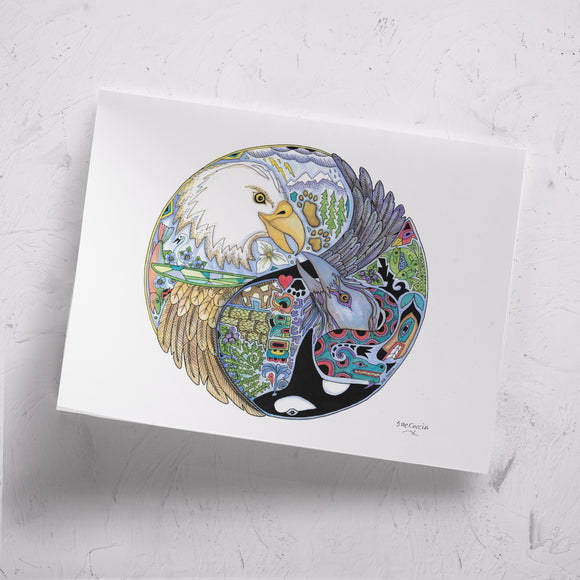 Love Birds Signed Print