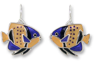 Majestic Angelfish Earrings