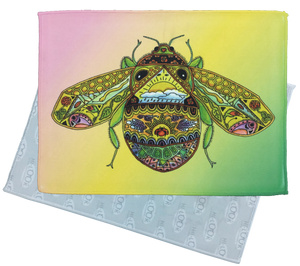 Bee Microfiber Cleaning Cloth