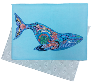 Blue Whale Microfiber Cleaning Cloth