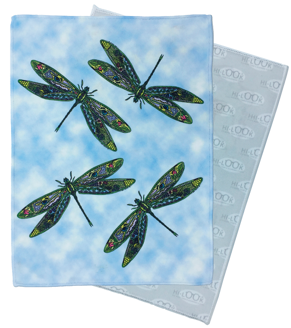Dragonflies Microfiber Cleaning Cloth