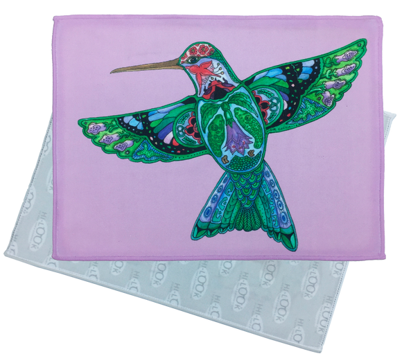 Hummingbird Microfiber Cleaning Cloth