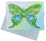 Luna Moth Microfiber Cleaning Cloth