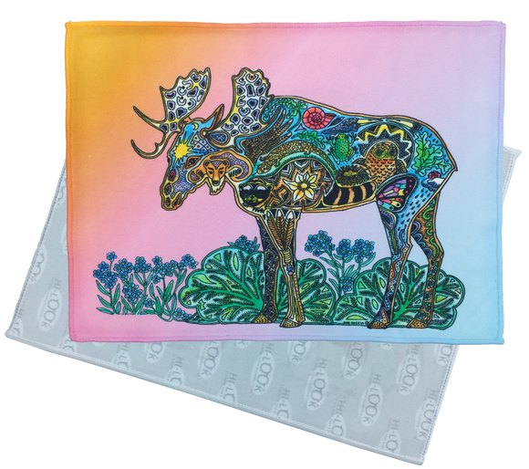 Moose Microfiber Cleaning Cloth