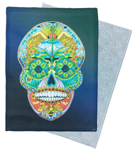Sugar Skull Microfiber Cleaning Cloth