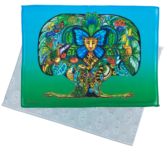 Tree Of Life Microfiber Cleaning Cloth