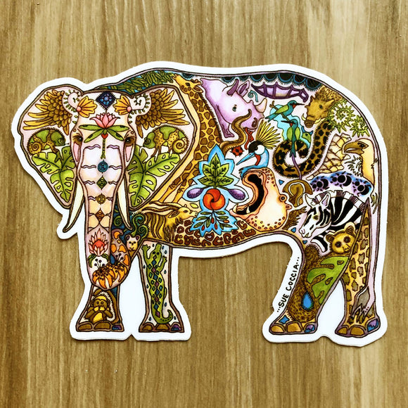 Elephant Mabula Sticker