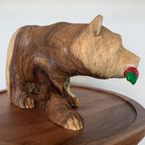 Grizzly Bear Carving (Medium)