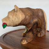 Grizzly Bear Carving (Small)