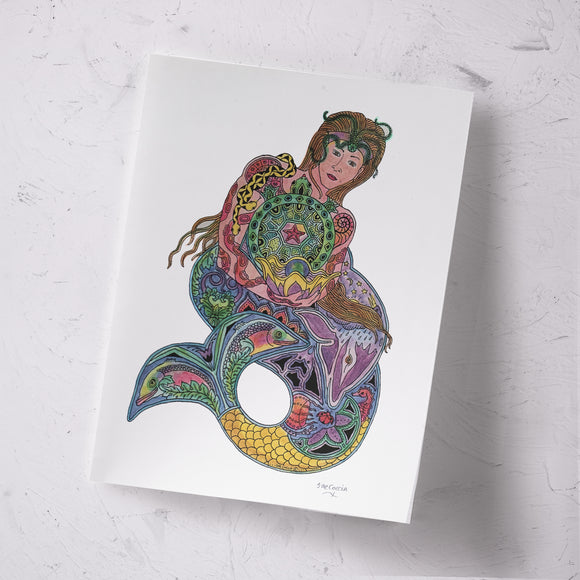 Mermaid Signed Print