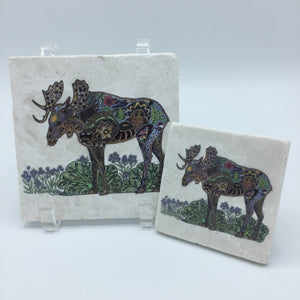 Moose Coasters and Trivets